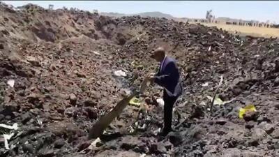 Se estrella un avión de Ethiopian Airlines minutos después de haber despegado y mueren 157 personas