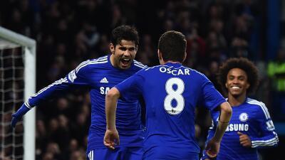 Oscar niega que se haya peleado con Diego Costa en el entrenamiento del Chelsea