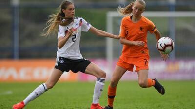 Alemania es el nuevo campeón femenil SUB-17 de Europa tras vencer a Holanda