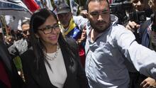 Cómo fue el frustrado intento de la canciller venezolana de entrar a la fuerza en una reunión de Mercosur