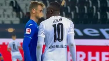 Marcus Thuram recibe fuerte multa económica tras escupir a un rival