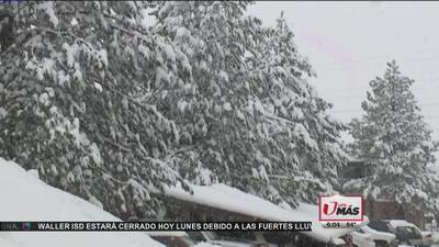 Tormentas de nieve en Colorado