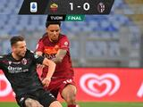 Bryan Reynolds fue titular por primera vez y Roma vence al Bologna