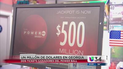 Amanecieron dos nuevos millonarios en Georgia