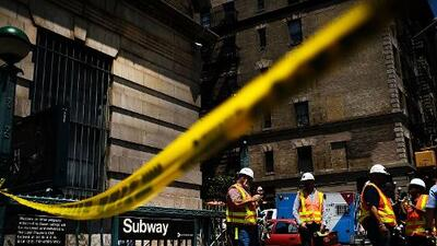 Fueron niños quienes causaron pánico en el tren F tras dejar petardos en un vagón y huir, dice la policía