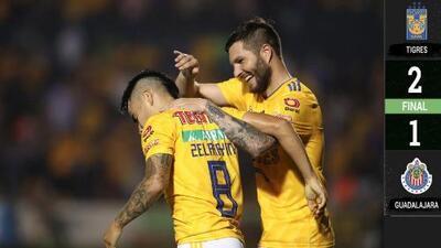 Tigres 2-1 Chivas - RESUMEN Y GOLES – Clausura 2019 Liga MX