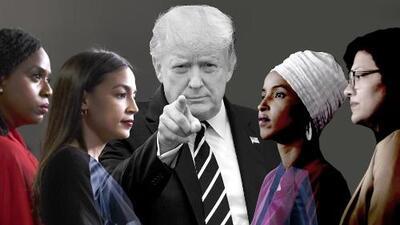 """""""Vete a tu país"""": la frase racista cada vez más común por la que ahora está siendo criticado el presidente Trump"""
