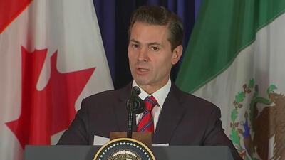 Revelan que el expresidente mexicano Enrique Peña Nieto gastó miles de dólares en gel para cabello