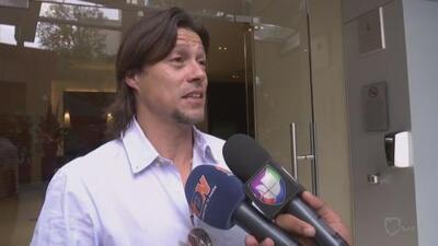 El DT argentino Matías Almeyda llegó a México para negociar con Chivas