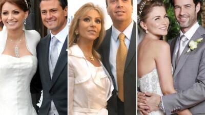 Las actrices que se enamoraron del poder