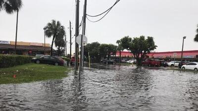 Riesgo elevado de inundaciones en los condados Miami-Dade y Broward: se espera la formación de un nuevo ciclón