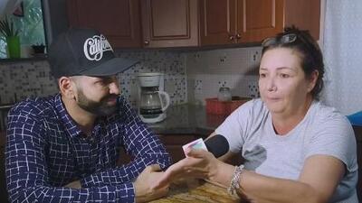 Jomari Goyso sorprendió a una madre que perdió a su hija y a su padre