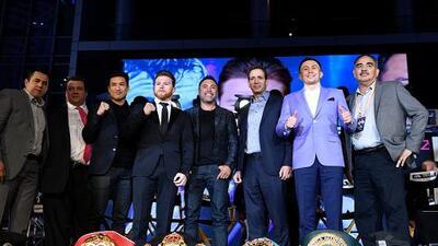 Las posibles sedes para Canelo vs. Golovkin en caso de 'caerse' en Las Vegas