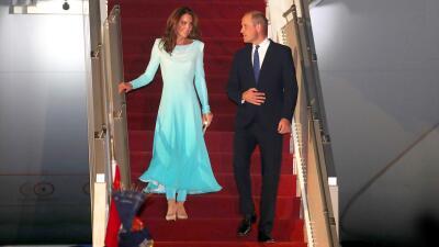 El príncipe William y Kate Middleton comienzan una gira distinta en Pakistán