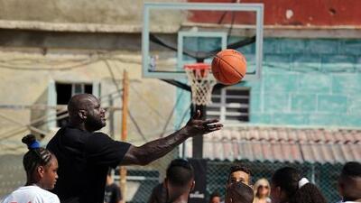 Shaq brings US basketball diplomacy to Cuban capital
