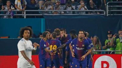 Miami nos lo confirmó: el Clásico entre Barcelona y Real Madrid se pintó de blaugrana