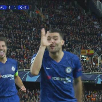 ¡No bajó los brazos! Kovacić colocó el empate 1-1 ante Valencia