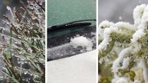 Estas son las diferencias entre la nieve, aguanieve y lluvia helada