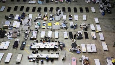 En video: El refugio médico de Puerto Rico se llena de emergencias a más de un mes del huracán