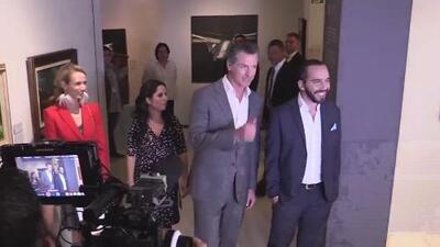 El gobernador de California se reunió con el presidente electo de El Salvador