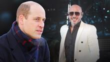 El príncipe William le ganó a Pitbull: recibe el título del hombre calvo más sexy del mundo