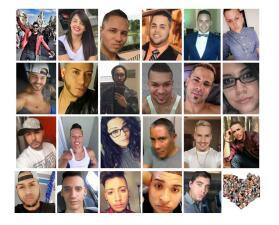 Estos son los 23 boricuas caídos en la peor masacre a tiros en la historia de Estados Unidos