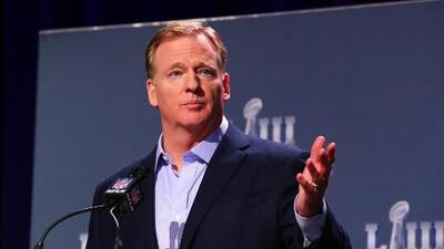 Roger Goodell confirma buena relación entre la NFL y México
