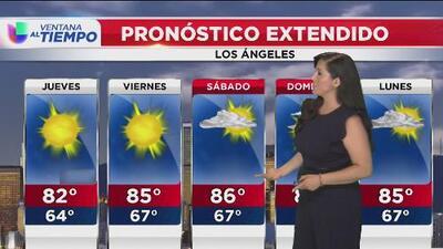 Una ola de calor se acerca al sur de California por lo que se prevé un jueves con temperaturas altas en Los Ángeles