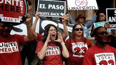 Cómo la ley SB4 desató una guerra abierta en Texas
