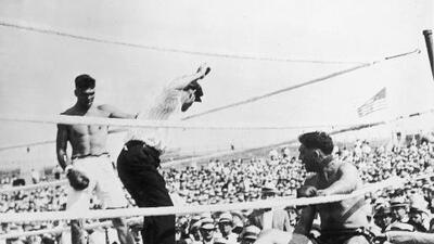 Se cumplen 100 años del primer campeonato mundial de Jack Dempsey