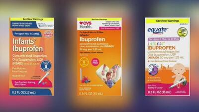 Retiran del mercado ibuprofeno líquido para niños por contener dosis mayor a la recomendada