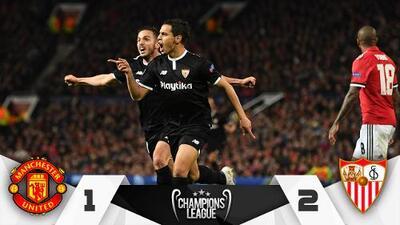 ¡Campanada a Mou! El irreverente Sevilla eliminó al United de Mourinho