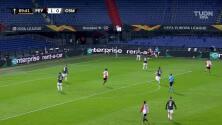 ¡GOOOL! Orkun Kokcu anota para Feyenoord.