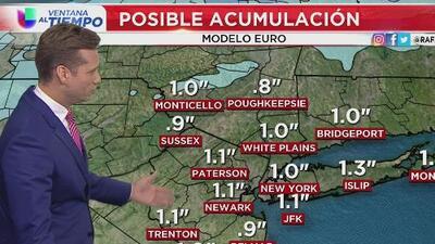 Alerta por mal tiempo durante este viernes en Nueva York