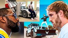 Floyd Mayweather vs. Logan Paul: ¿quién tiene la mejor colección de carros?