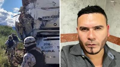 Autobús de Claudio Alcaraz fue embestido en México por un camión que perdió el control: reportan 5 lesionados