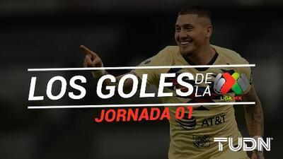 Revive los goles de la Jornada 1 del Apertura 2019