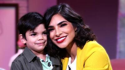 Alejandra Espinoza muestra orgullosa cómo su hijo Matteo (con solo 4 años) ya escribe y lee algo