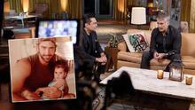 """""""Le canto […] y se pone feliz"""": Alejandro Fernández habla de su nueva faceta de abuelo"""