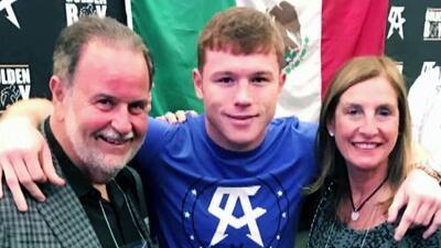 Saúl 'El Canelo' Álvarez habló con Raúl de Molina minutos después de ganar la pelea