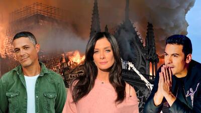 Los famosos que estuvieron en la Catedral de Notre Dame antes del voraz incendio (y con estas fotos lo lamentaron)