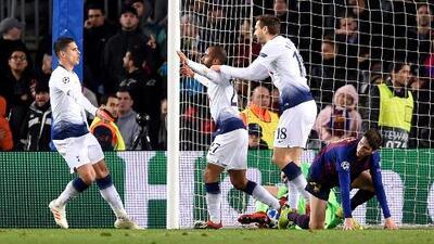 Lucas Moura, relato de un gol al Barcelona que dejó vivo al Tottenham en la Champions League