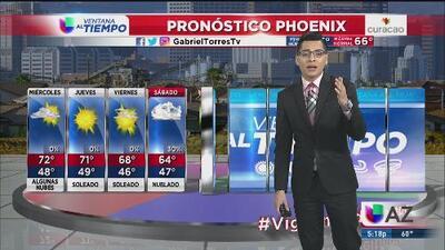 Temperaturas frescas en Arizona