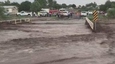 Tormentas dejaron inundaciones y severos daños alrededor del valle