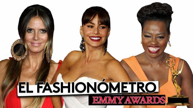 El Fashionómetro: los mejor y peor vestidos de los premios Emmy 2017