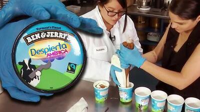 Ella es la primer mujer latina creadora de helados en Ben & Jerry's (que hizo uno especial para Despierta América)