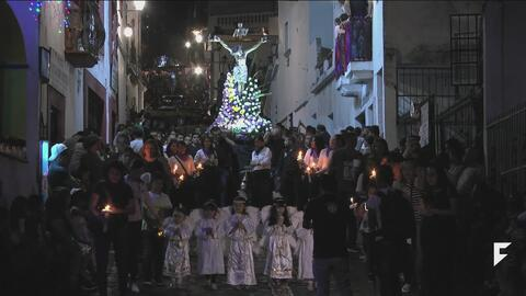 Dramatic processions are integral part of Holy Week in Texaco, Mexico