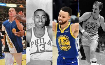Estos son los 10 jugadores históricos de la franquicia de los Golden State Warriors