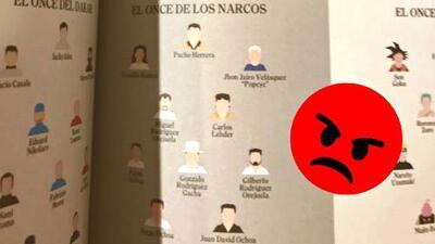 Indignante: revista Panenka ofendió a la selección Colombia relacionándola con narcos