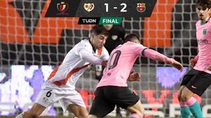 ¡Sufrido pase! Barça eliminó a Rayo Vallecano y está en Cuartos